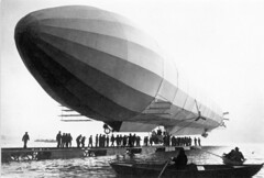 henry cord meyer image (San Diego Air & Space Museum Archives) Tags: lz3 airship zeppelin