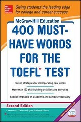 [PDF] DOWNLOAD McGraw-Hill Education 400 Must-Have Words for the TOEFL, 2nd Edition UNLIMITED (BOOKSYZQYYBCAE) Tags: pdf download mcgrawhill