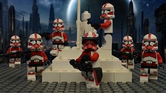Phase 2 Commander Thorn and Shock Troopers (Brick Tale Studios) Tags: lego star wars clone commander thorn shock trooper coruscant guard security phase 2 brickfilm brick tale studios lswstoriesanimations avxtc designs republic war