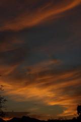 Sunset 10 15 17 #06 (Az Skies Photography) Tags: sun set sunset dusk twilight nightfall sky skyline skyscape cloud clouds red orange yellow gold golden salmon black 101517 10152017 rio rico arizona az riorico rioricoaz arizonasky arizonaskyline arizonaskyscape arizonasunset canon eos 80d canoneos80d eos80d canon80d
