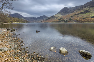 Cloudy day at Buttermere
