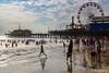 Next to the Pier (Santa Monica Beach) (astrofan80) Tags: california kalifornien losangeles meer pazifik personen pier rundreise santamonica santamonicabeach santamonicapier strand usa us