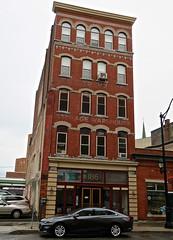 Storage Warehouse, Binghamton, NY (Robby Virus) Tags: binghamton newyork ny upstate ghost sign signage faded building architecture storage warehouse windows