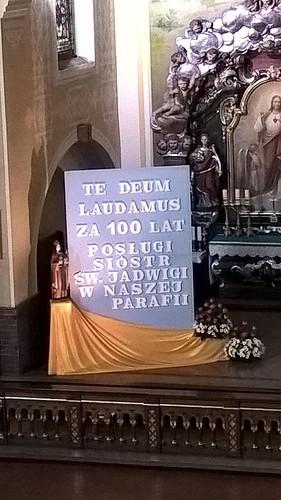 Jubileusz 100 lat Sióstr Jadwiżanek w parafii