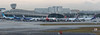 Miami Morning Panorama (Winglet Photography) Tags: plane airplane aircraft airline airlines airliner jet jetliner flight flying aviation travel transport transportation spotting planespotting georgewidener georgerwidener stockphoto wingletphotography canon 7d dslr miami florida mia kmia fl south airport lan latam tam latamgroup aerolineasargentinas boeing airbus 777300 767300 a330200 7879 dreamliner gate ramp terminal concourse international dawn morning apron 2017 panorama wide