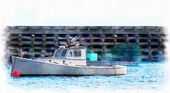 Maine Lobster Boat (jack byrnes hill) Tags: maine mainecoast lobsterboat baileyisland cooks jackbyrneshill lobstering