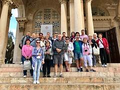 1 - Zarándokok a Nemzetek templománál / Pútnici pred Bazilikou Agónie