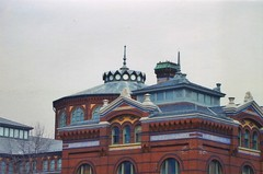 Smithsonian Arts and Industries Building -  Washington DC (Onasill ~ Bill Badzo) Tags: washington dc arts industries building smithsonian before restoration united states usa downtown mall nation museum onasill nrhp historic events festival folklife market place asian pacific american center crosslines amazing carousel mary livingston ripley garden basket hanging flowers attraction site tourist travel mustsee old vintage photo national african art road tree sky city architecture tower skylight fragmental
