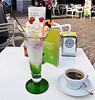 Coffee and ice cream at Riva del Garda EXPLORED (Vee living life to the full) Tags: lakegarda nikond300 roads mountains rivadelgarda view landscape bluesky town italy lake water sunshine ou trips