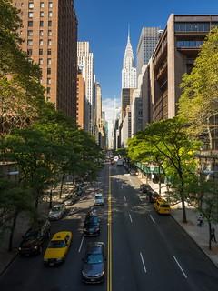 42 St. & Chrysler Building. Desde Tudor City.
