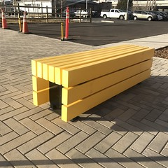 Recycled Benches at STEAM