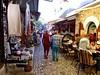 Busy streets near the Old bridge, Mostar (ali eminov) Tags: mostar bosniahercegovina shops cafes restaurants souvenirs people