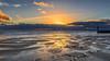 Incoming Tide (nicklucas2) Tags: seascape beach sea sand pebble cloud sunset southbourne