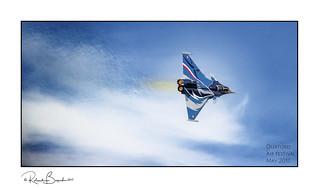 Boiling the sky - Dassault Rafale