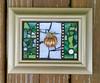 4-2 pumpkin finished (toadranchlady) Tags: mosaicart mixedmediamosaic temperedglass stainedglass foundobjects