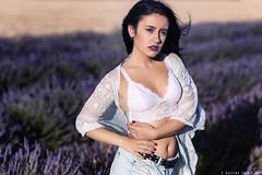 Saray - 5/6 (Pogdorica) Tags: modelo sesion retrato posado chica campo lavanda brihuega saray tattoo