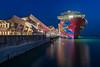 Genting Dream (BP Chua) Tags: cruise ship vessel bluehour singapore marinabay cruisecentre gentingdream dreamcruises landscape nikon d800e wideangle platinumheartaward