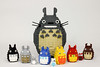 Totoro's friends (Gzu's Bricks) Tags: snot mangas anime ghibli kawai mignon cute tonari totoro friends lego bricks gzu miyazaki japan japon ironman mini toy toys daruma