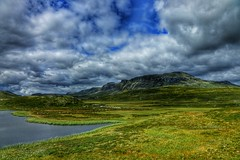 View (Roman_P2013) Tags: best shot nice norway norge landscape lake clouds grass summer