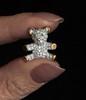 Little Ted (Smiffy'37) Tags: macromondays fingertips jewel jewellery bright fingers glitz object macro closeup