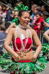 The Hula Comes To Downtown Broadway (corneliusreed) Tags: parade flickr dance woman newyork unitedstates us