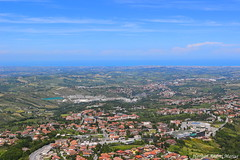 Landscape (Hariton Andrei Marius) Tags: canoneos100d canon wideviewpoint spring panorama panoramicviewpoint nature landscape natura paesaggio sanmarino sky cielo photoshop