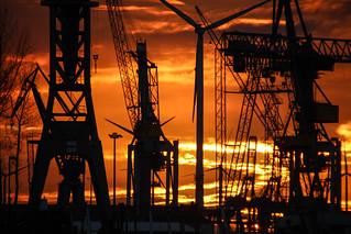Sundown Steinwerder