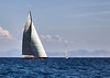 Old big sailing yacht in the sea (Sergey_pro) Tags: sail race sailboat outdoor cruise adventure seaman nautical white pursuit row windy holiday teamwork sunny horizon yachting luxury summer waves ship freedom yacht regatta bow team recreation transport lifestyle winner wind blue speed sky competition boat sea water navigation crew vessel