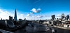 Lines in the sky, folds in the water (stckrboy) Tags: riverthames wideangle olympus thames england bridge epl7 water buildings outdoor panorama modern penepl7 shadows blue boats london river landscape architecture city sky ripples pen clouds olympuspen white skyline contrail