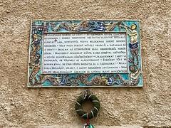 61 - Látogatás temploma - magyar tábla / Bazilika navštívenia Panny Márie - maďarská tabuľa