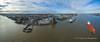 Birkenhead Waterfront (Roger Ellison) Tags: mersey birkenhead aerial docks waterfront wirralwaterfront merseyferry woodside