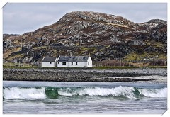 Another white house (john.methven) Tags: clashnessie assynt scotland highlands sea waves cottage