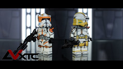 Updated EP3 Commanders (AndrewVxtc) Tags: lego star wars custom minifigures clone trooper commander cody bly andrewvxtc episode 3 ep3 revenge of the sith