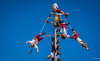 2017 - Mexico - Tequila - Pole Buskers (Voladores) - 2 of 2 (Ted's photos - For Me & You) Tags: 2017 cropped mexico nikon nikond750 nikonfx tedmcgrath tedsphotos tedsphotosmexico tequila vignetting tequilajalisco tequilapuebomágico tequilatour santiagodetequila magictownsofmexico pueblomágico pueblosmagicos buskers polebuskers costumes red redrule voladores