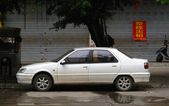 Citroën Elysée (rvandermaar) Tags: citroënelysée fukang zx citroënzx citroen china hezhou guangxi rvdm