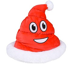 Christmas Plush Emoji Red Santa Poop Hat (mywowstuff) Tags: gift idea guide gadget family home