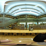 Toyosaka City Library in equirectangular (豊栄市立図書館)