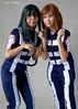 20171209 - 01 Tsuya Asui and Ochaco Ururaka, Boku no Hero Academia. (Henry Aldridge) Tags: cosplay singapore asia henryaldridge anime manga gaming eoycosplayfestival marinabarrage
