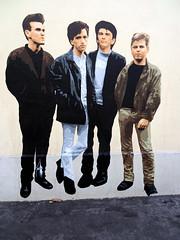 The Smiths pasted paper by Big Ben [Lyon, France] (biphop) Tags: europe france lyon streetart wheatpaste wheatpaper collage pasted paper pasteup big ben bigben smiths