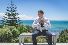 Alex & Angus-15 (photoadventure.co.nz) Tags: wedding married marriage bride groom love ceremony couple dress suit flowers outside outdoors together togetherness intimate celebrate celebration family friends happy happiness smile smiles laughing fun connection anticipation excitement exciting decoration details emotion emotional newzealand nz stanmore bay silverdale ambers