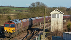 Made Redundant (Feversham Media) Tags: barnetbylewold dbs lincolnshire lincs ews dbschenker freighttrains barnetby barnetbyeastsignalbox class66 sheds 66133 northlincolnshire