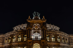 Semperoper Dresden (Flickr Explore) (lens73germany) Tags: 365 365tage 365days project365 3652015 365daysproject fotodestages photooftheday 366 366tage 366days project366 3662015 366daysproject farbe bunt color colorkey street streetphotography strasenfotografie inthestreets sony alpha alpha7 sonyalpha7 vollformat spiegellos building architecture architektur gebäude deutschland germany allemagne dresden sachsen saxony nacht night dunkel dark semperoper oper barrock renaissance semper explore flickrexplore xplore