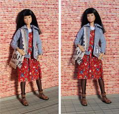 Student (FreeRangeBarbie) Tags: college student barbie outfit diy