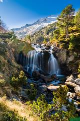 Cascada de Aiguallut (easaphoto) Tags: cascada pirineos parquenaturalposetsmaladeta