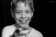 Edgar (Normann Photography) Tags: bnw elinchromedlite4it people blackwhite blackandwhite blancoynegro boy bw happy human monoart monochrome person portrait smile studiolight