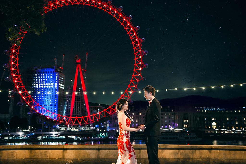 倫敦婚紗 倫敦眼婚紗拍攝 禮服: Toris Wedding