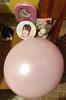 Happy Birthday Minami san! (shiroibasketshoes hopper) Tags: singer jpop birthday happy rabbits bunnies toy balloon pink decoration hellokitty