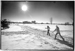 Cross country skiiing