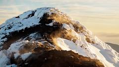 Living Earth (blue polaris) Tags: new zealand tongariro national park mt mount ngauruhoe steam vent fumarole volcano landscape snow