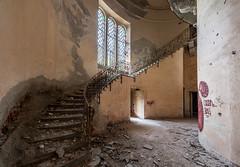 Villa Bordini Abandoned in Italy by les Johnstone -